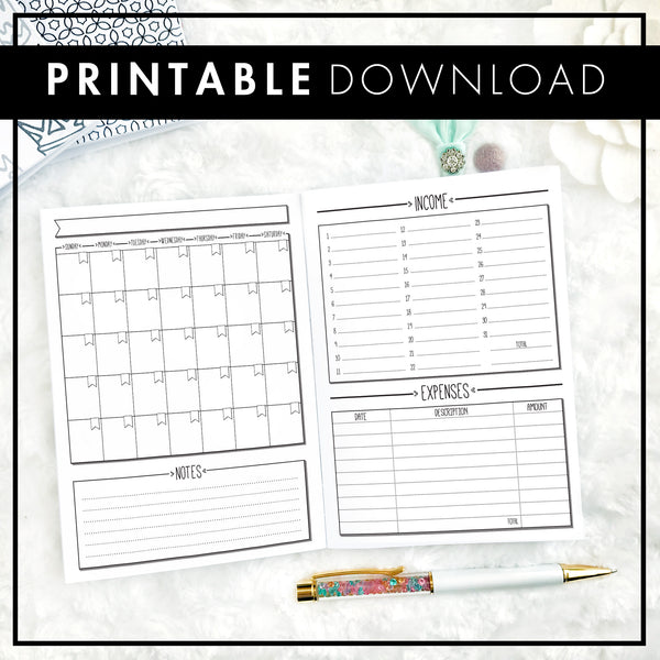 Boss Sales Tracker and Budget | Printable