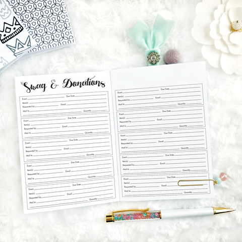 Boss Babe Shop Planner | Printed