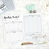 Monthly Budget Planner Pages