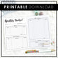 Financial Planner & Budget | Printable