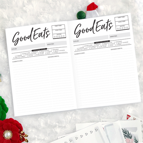 Christmas Recipes | 2020 | Printed