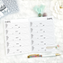 Contacts Planner Page