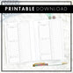 Daily Socialite Planner | Printable