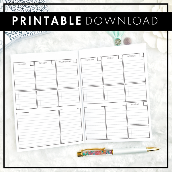 Designer Weekly | The Executive | Printable