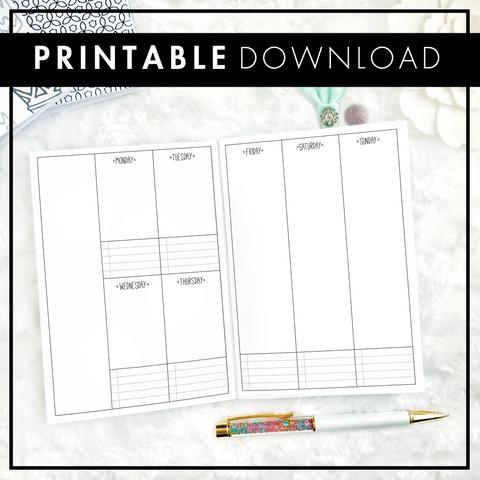 Designer Weekly | The Margie | Printable