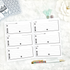 Contacts & Address Book | Doodle Style | Printed
