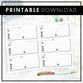 Contacts & Address Book | Doodle Style | Printable