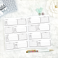 Password Tracker | Doodle Style | Printed