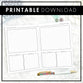Executive Promotions Planner | Printable