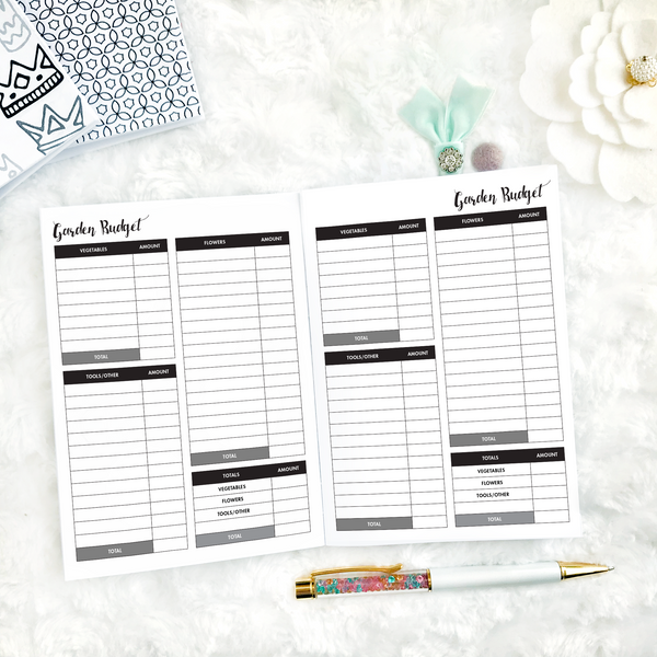 Garden Planner Three Pack | Printed