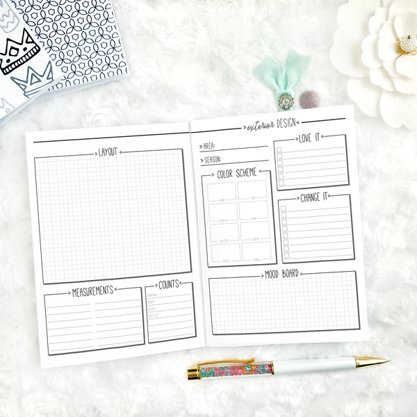 Home Decor Planner | Printed