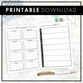 Cleaning Planner | Printable