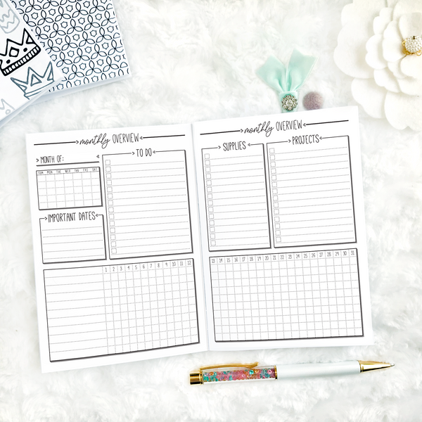 Cleaning Planner | Printed
