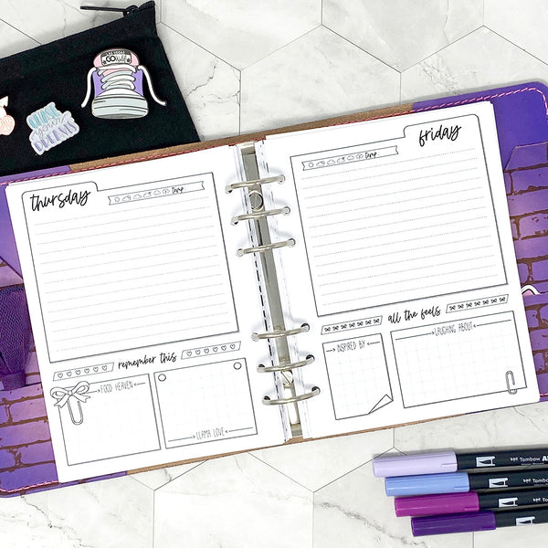 Go Wild - Wild Days Planner | Go Wild Official Merchandise | Printable