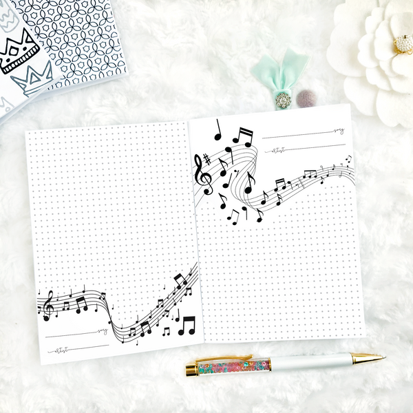 Music Planner | Printed