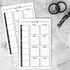 Notepad | Doodle Meal Planner | Printed