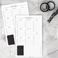 Notepad | Script Meal Planner | Printed