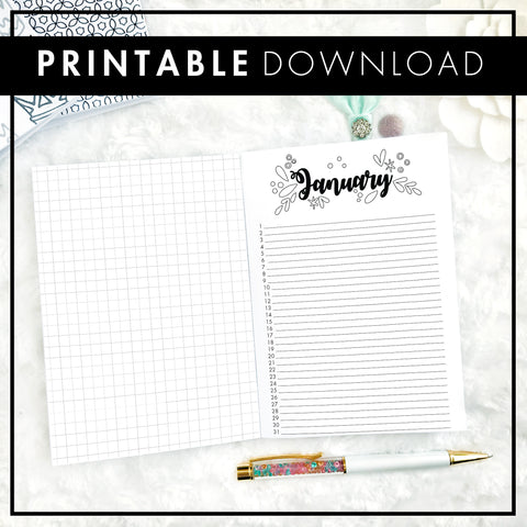 Perpetual Monthly | Printable