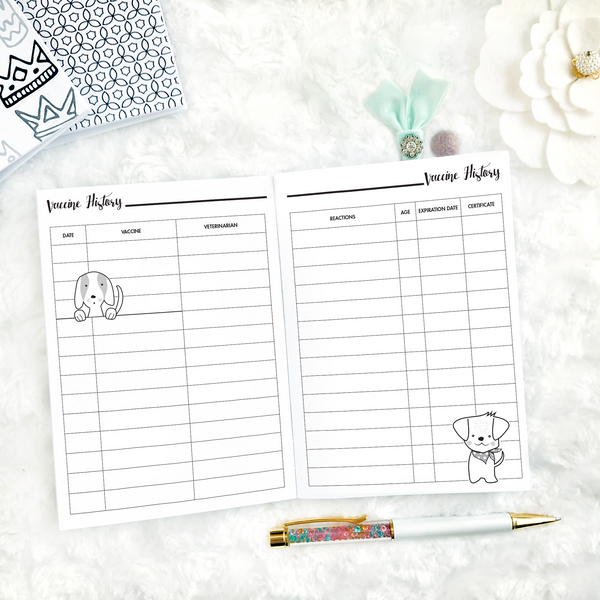 Pet Planner - Dog | Printable
