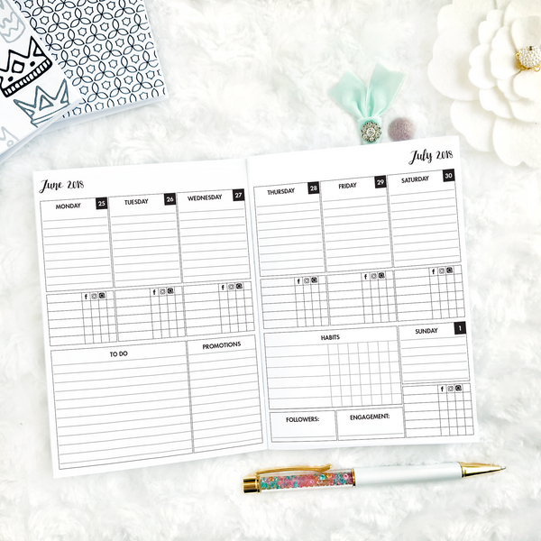 PR Babe Promotional Planner | Printed