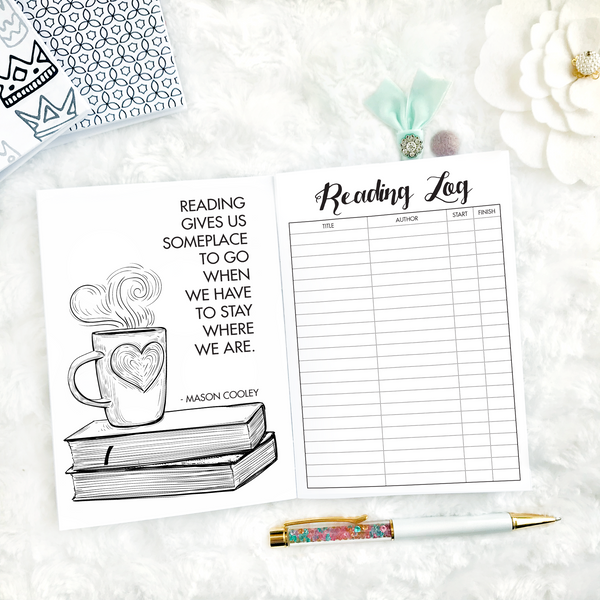 Reading Journal & Literary Log | Printable