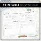 Spoonie Series | Appointment Tracker | Printable