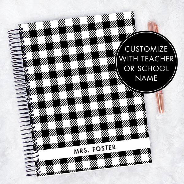 Teacher Planner | Vertical | Undated | Printed