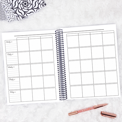 Teacher Planner | Horizontal | Undated | Printed