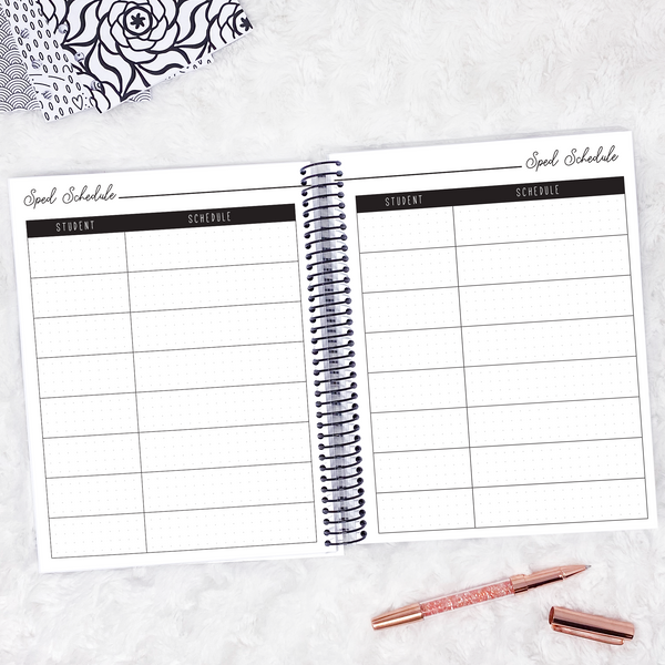 Teacher Planner | Vertical | Undated | Printable