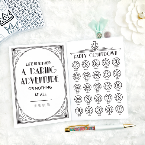 Roaring Twenties Conference Planner | WCP Official Merchandise | Printed
