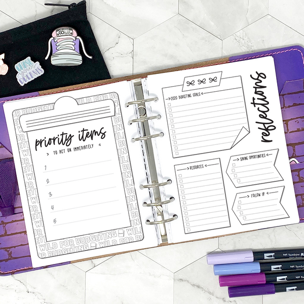 Go Wild - Shop Summit Planner | Go Wild Official Merchandise | Printable