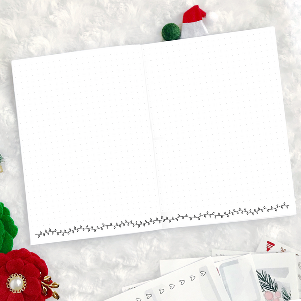 Christmas Basics - Dot Grid | Printed