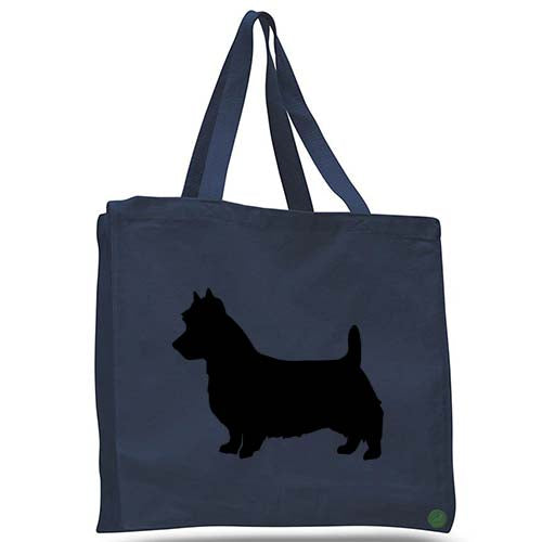 australian terrier dog tote bag