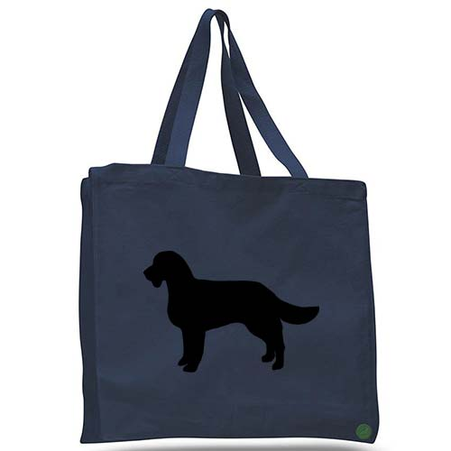 american water spaniel dog tote bag