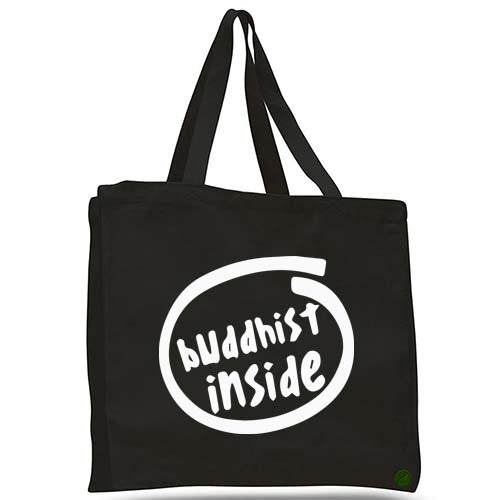 buddhist inside tote bag