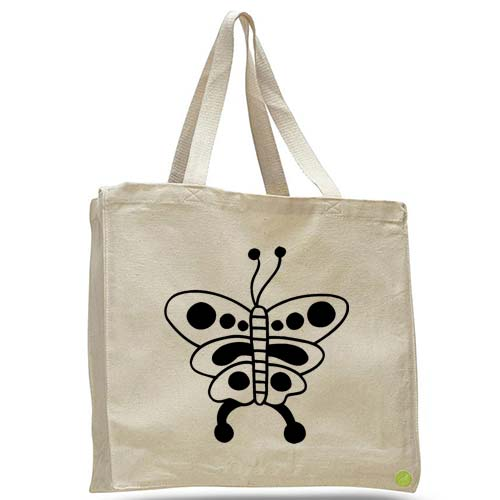 butterfly tote bag