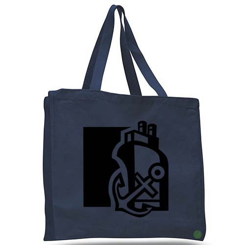boat and anchor tote bag