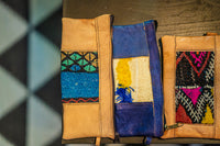 Leather Wristlets from Morocco