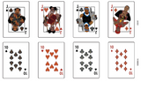 "ETHER ""Always Bet On Black"" Playing Cards"