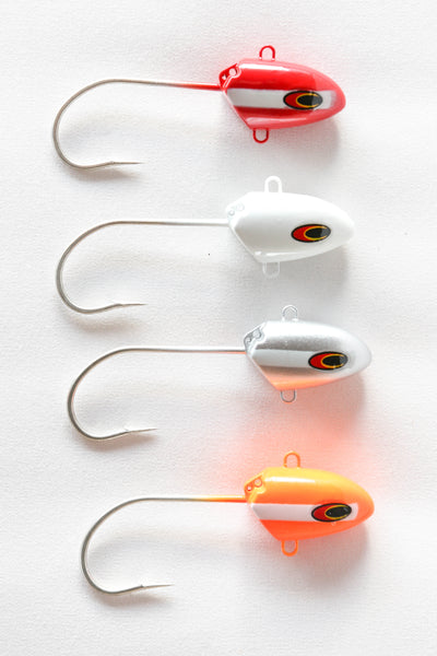 Jig Heads - Fixed Head (70 - 300g / 2.5 - 10.5oz)