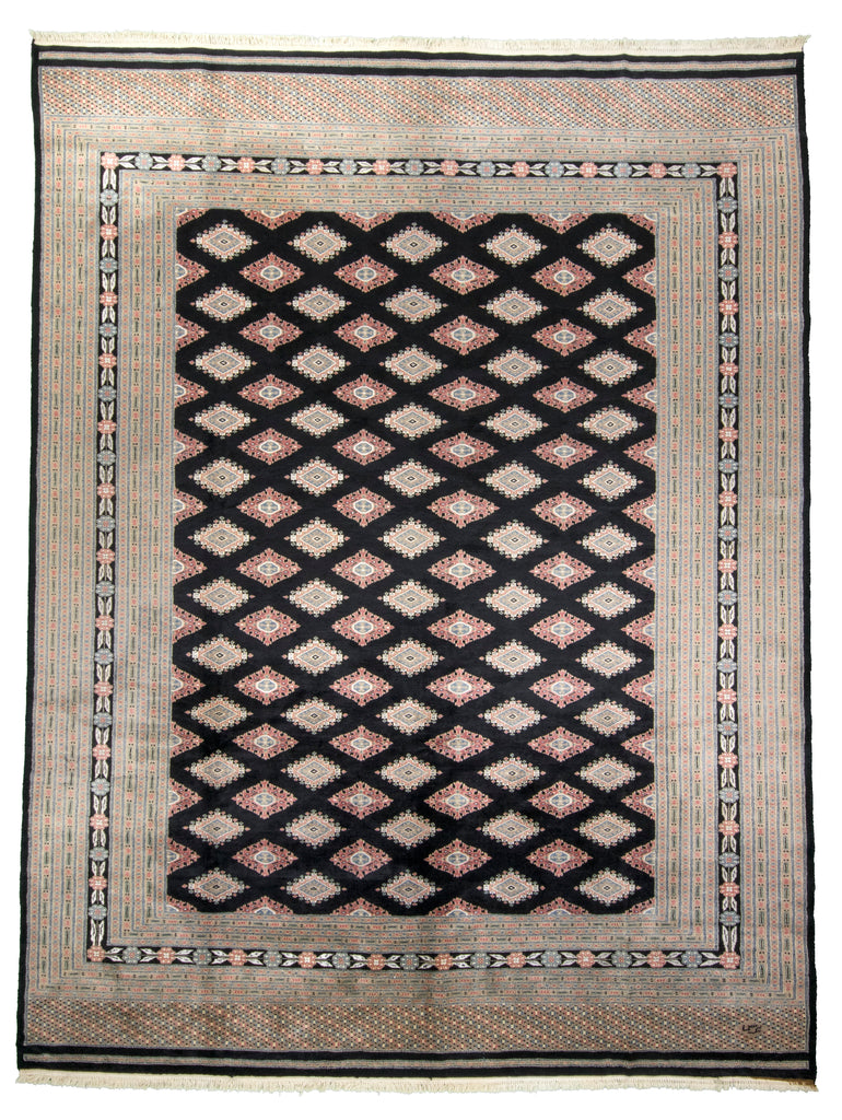 Pakistani Hand-Made Wool Rug - Tabak Rugs