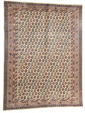 Pakistani Caucasian Design Hand-Made Wool Rug - Tabak Rugs