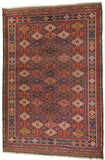 Pakistani, Turkmen Design Hand-Made Wool Rug - Tabak Rugs