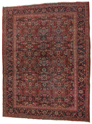 Persian Mahal Hand-Made Wool Rug - Tabak Rugs