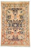 Moroccan Star Kazak Design Hand-Made Wool Rug - Tabak Rugs