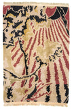 Nepal Contemporary Hand-Made Wool Rug - Tabak Rugs