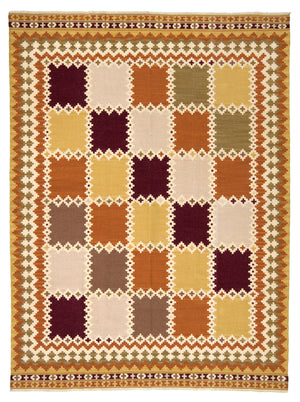 Turkish Kilim Hand-Made Wool Rug - Tabak Rugs