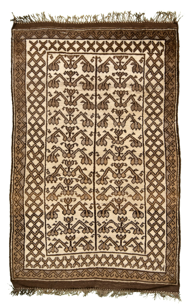 Moroccan Hand-Made Wool Rug - Tabak Rugs