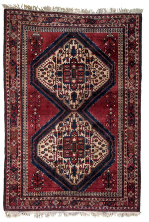 Persian Shiraz Hand-Made Wool Rug - Tabak Rugs
