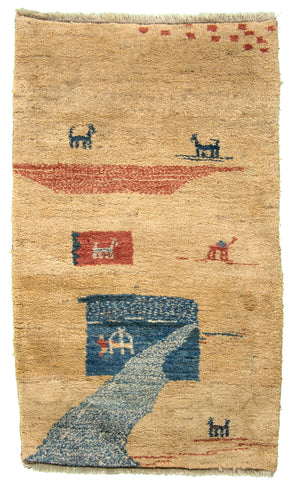 Turkish Gabeh Hand-Made Wool Rug - Tabak Rugs
